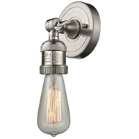 Bare Bulb LED 5 inch Brushed Satin Nickel ADA Wall Sconce Wall Light