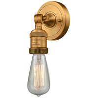Innovations Lighting 202ADA-BB-LED Bare Bulb LED 5 inch Brushed Brass ADA Sconce Wall Light Franklin Restoration