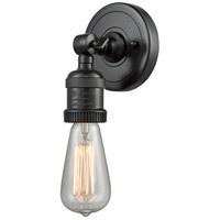 Innovations Lighting 202ADA-BK-LED Bare Bulb LED 5 inch Matte Black ADA Sconce Wall Light Franklin Restoration