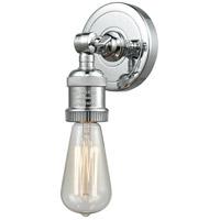 Innovations Lighting 202ADA-PC-LED Bare Bulb LED 5 inch Polished Chrome ADA Sconce Wall Light Franklin Restoration