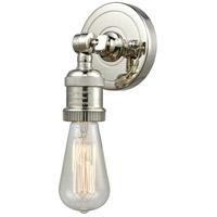 Innovations Lighting 202ADA-PN-LED Bare Bulb LED 5 inch Polished Nickel ADA Sconce Wall Light Franklin Restoration