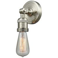 Innovations Lighting 202ADA-SN-LED Bare Bulb LED 5 inch Satin Nickel ADA Sconce Wall Light Franklin Restoration