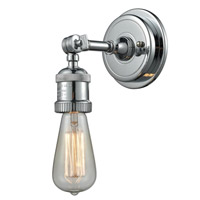 Innovations Lighting 202BP-PC Bare Bulb 1 Light 5 inch Polished Chrome Sconce Wall Light Franklin Restoration