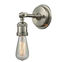 Innovations Lighting 202BP-SN Bare Bulb 1 Light 5 inch Brushed Satin Nickel Wall Sconce Wall Light
