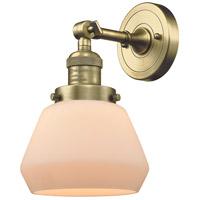 Innovations Lighting 203-AB-G171 Fulton 1 Light 7 inch Antique Brass Sconce Wall Light