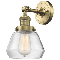 Innovations Lighting 203-AB-G172-LED Fulton LED 7 inch Antique Brass Sconce Wall Light