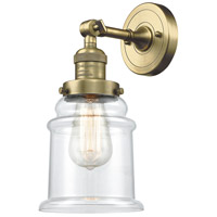 Innovations Lighting 203-AB-G182 Canton 1 Light 7 inch Antique Brass Sconce Wall Light