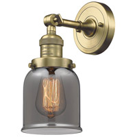 Innovations Lighting 203-AB-G53-LED Small Bell LED 5 inch Antique Brass Sconce Wall Light