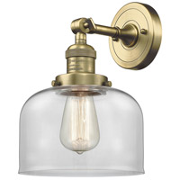 Innovations Lighting 203-AB-G72 Large Bell 1 Light 8 inch Antique Brass Sconce Wall Light
