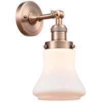 Innovations Lighting 203-AC-G191 Bellmont 1 Light 7 inch Antique Copper Sconce Wall Light Franklin Restoration