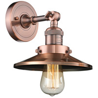 Innovations Lighting Steel Railroad Wall Sconces