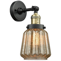 Innovations Lighting 203-BAB-G146 Chatham 1 Light 6 inch Black Antique Brass Sconce Wall Light