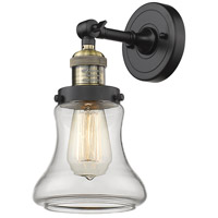Innovations Lighting 203-BAB-G192-LED Bellmont LED 7 inch Black Antique Brass Sconce Wall Light