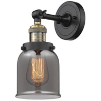 Innovations Lighting 203-BAB-G53-LED Small Bell LED 5 inch Black Antique Brass Sconce Wall Light