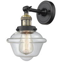 Innovations Lighting 203-BAB-G532 Small Oxford 1 Light 8 inch Black Antique Brass Sconce Wall Light
