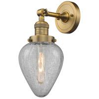 Innovations Lighting 203-BB-G165-LED Geneseo LED 7 inch Brushed Brass Sconce Wall Light Franklin Restoration
