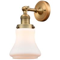 Innovations Lighting 203-BB-G191-LED Bellmont LED 7 inch Brushed Brass Sconce Wall Light Franklin Restoration