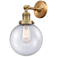 Cast Brass Beacon Wall Sconces