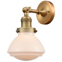 Innovations Lighting 203-BB-G321 Olean 1 Light 7 inch Brushed Brass Sconce Wall Light Franklin Restoration