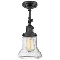 Innovations 203-BK-G191 1 Light Sconce Matte Black