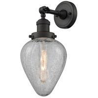 Innovations Lighting 203-OB-G165-LED Geneseo LED 7 inch Oil Rubbed Bronze Sconce Wall Light Franklin Restoration