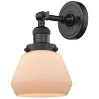 Innovations Lighting 203-OB-G171-LED Fulton LED 7 inch Oil Rubbed Bronze Sconce Wall Light