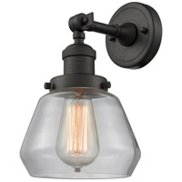 Innovations Lighting 203-OB-G172-LED Fulton LED 7 inch Oil Rubbed Bronze Sconce Wall Light Franklin Restoration