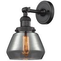 Innovations Lighting 203-OB-G173-LED Fulton LED 7 inch Oil Rubbed Bronze Sconce Wall Light