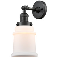Innovations Lighting 203-OB-G181-LED Canton LED 7 inch Oil Rubbed Bronze Sconce Wall Light Franklin Restoration
