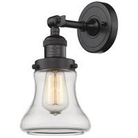 Innovations Lighting 203-OB-G192-LED Bellmont LED 7 inch Oil Rubbed Bronze Sconce Wall Light Franklin Restoration