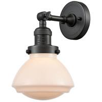 Innovations Lighting 203-OB-G321 Olean 1 Light 7 inch Oil Rubbed Bronze Sconce Wall Light Franklin Restoration