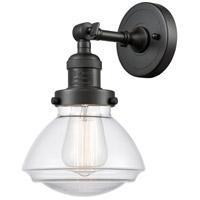 Innovations Lighting 203-OB-G322 Olean 1 Light 7 inch Oil Rubbed Bronze Sconce Wall Light Franklin Restoration