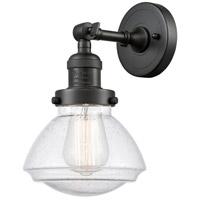 Innovations Lighting 203-OB-G324 Olean 1 Light 7 inch Oil Rubbed Bronze Sconce Wall Light Franklin Restoration