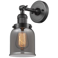 Innovations Lighting 203-OB-G53-LED Small Bell LED 5 inch Oil Rubbed Bronze Sconce Wall Light