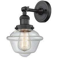 Innovations Lighting 203-OB-G532-LED Small Oxford LED 8 inch Oil Rubbed Bronze Sconce Wall Light, Franklin Restoration