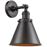 Innovations Lighting 203-OB-M13-OB Appalachian 1 Light 8 inch Oil Rubbed Bronze Sconce Wall Light Franklin Restoration