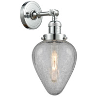 Innovations Lighting 203-PC-G165-LED Geneseo LED 7 inch Polished Chrome Sconce Wall Light Franklin Restoration