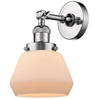 Innovations Lighting 203-PC-G171-LED Fulton LED 7 inch Polished Chrome Sconce Wall Light