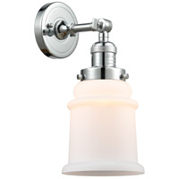 Innovations Lighting 203-PC-G181 Canton 1 Light 7 inch Polished Chrome Sconce Wall Light Franklin Restoration