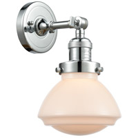Innovations Lighting 203-PC-G321 Olean 1 Light 7 inch Polished Chrome Sconce Wall Light Franklin Restoration