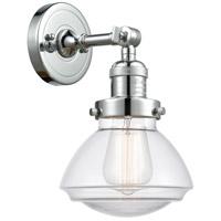 Innovations Lighting 203-PC-G322 Olean 1 Light 7 inch Polished Chrome Sconce Wall Light Franklin Restoration