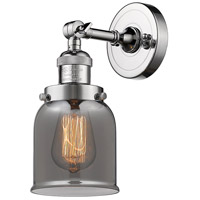 Innovations Lighting 203-PC-G53 Small Bell 1 Light 5 inch Polished Chrome Wall Sconce Wall Light Small Bell