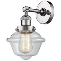 Innovations Lighting 203-PC-G532 Small Oxford 1 Light 8 inch Polished Chrome Sconce Wall Light