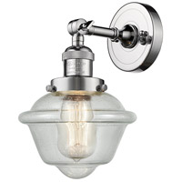 Innovations Lighting 203-PC-G534 Small Oxford 1 Light 8 inch Polished Chrome Sconce Wall Light