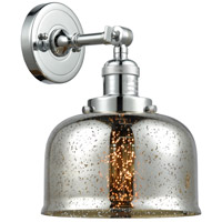Innovations Lighting 203-PC-G78-LED Large Bell LED 8 inch Polished Chrome Sconce Wall Light