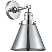 Innovations Lighting 203-PC-M13-PC-LED Appalachian LED 8 inch Polished Chrome Sconce Wall Light Franklin Restoration