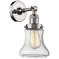Innovations Lighting 203-PN-G194 Bellmont 1 Light 7 inch Polished Nickel Sconce Wall Light Franklin Restoration