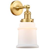 Innovations Lighting 203-SG-G181 Canton 1 Light 7 inch Satin Gold Sconce Wall Light