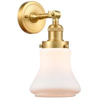 Innovations Lighting 203-SG-G191-LED Bellmont LED 7 inch Satin Gold Sconce Wall Light Franklin Restoration
