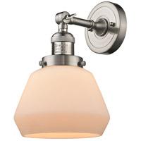 Innovations Lighting 203-SN-G171-LED Fulton LED 7 inch Brushed Satin Nickel Sconce Wall Light